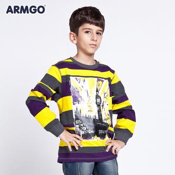阿米狗童装春装新款男童卫衣中大童休闲外套儿童套头衣